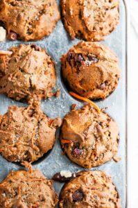 Healthy Carrot Walnut Muffins | aberdeenskitchen.com