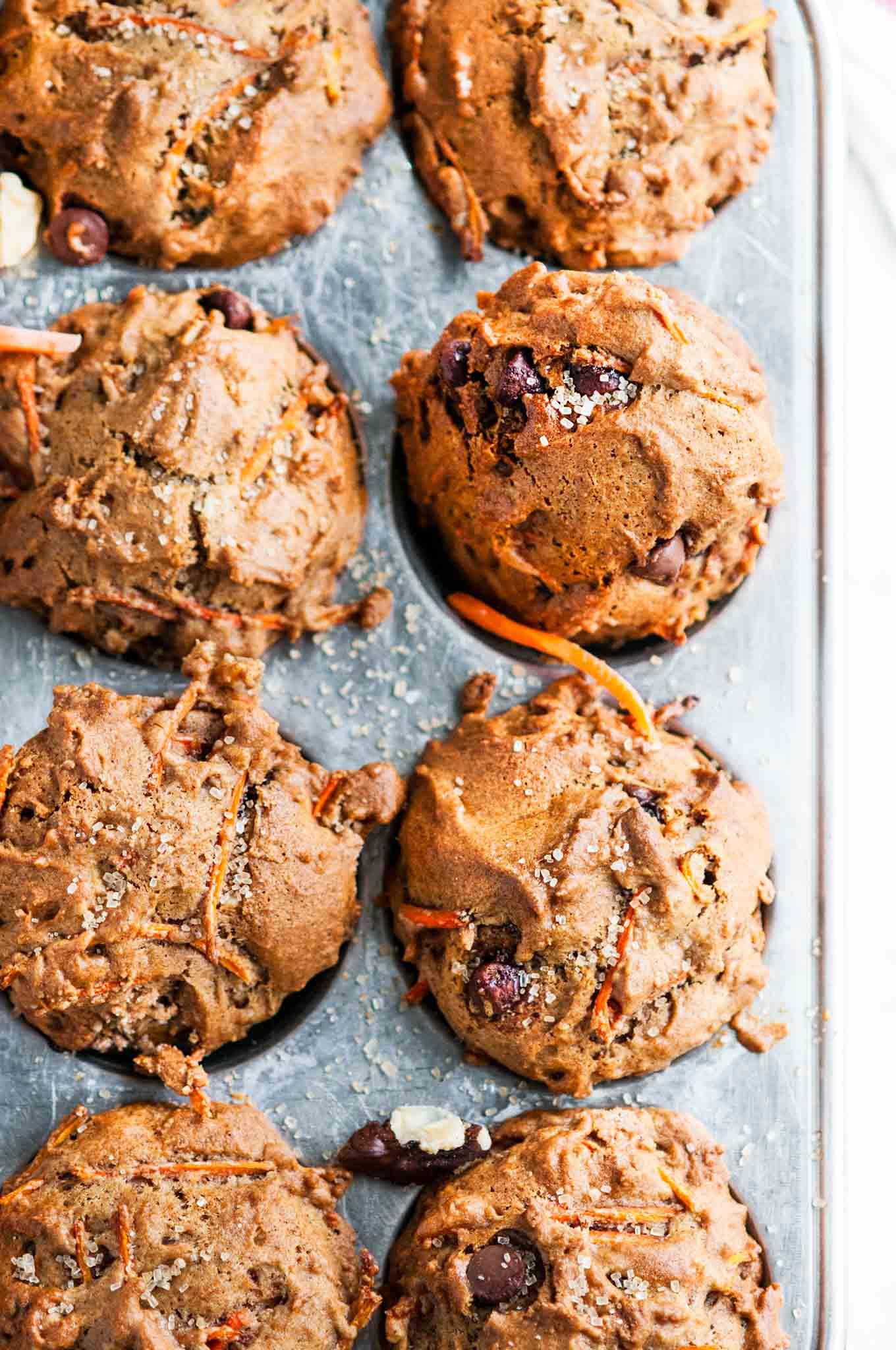 Healthy Carrot Walnut Muffins Aberdeen S Kitchen