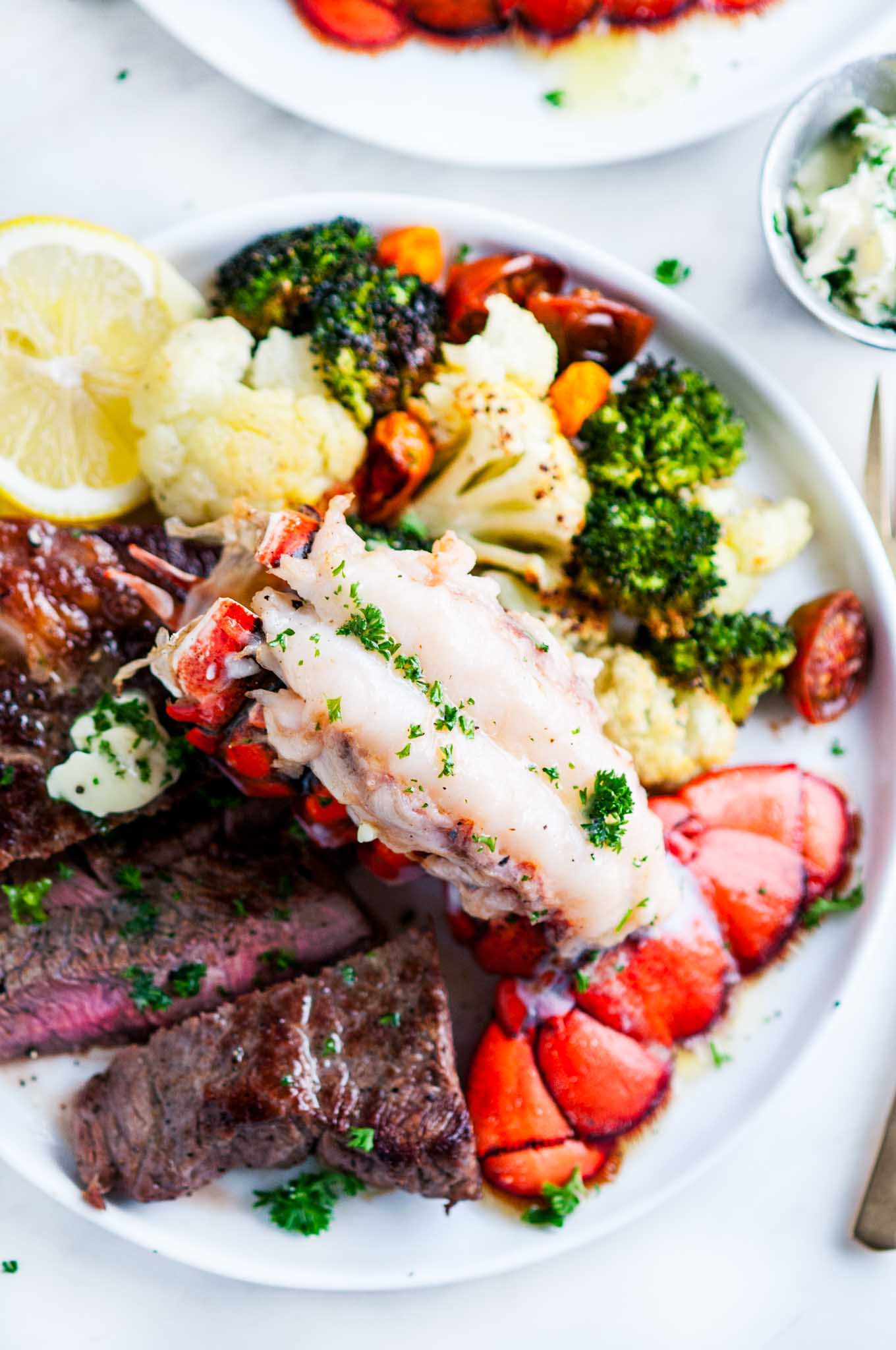 Surf En Turf >> Surf And Turf Steak And Lobster Tail For Two Aberdeen S Kitchen