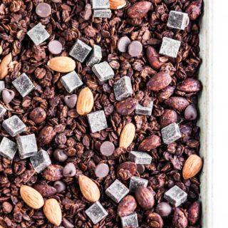 Double Chocolate Granola | aberdeenskitchen.com