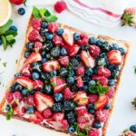 Mascarpone Cream Cheese Berry Tart with Lemon Curd | aberdeenskitchen.com
