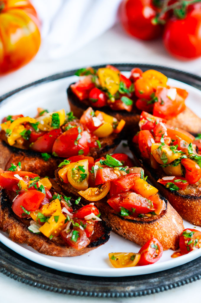 Tomato Basil Bruschetta Julie And Julia Style Aberdeen S Kitchen