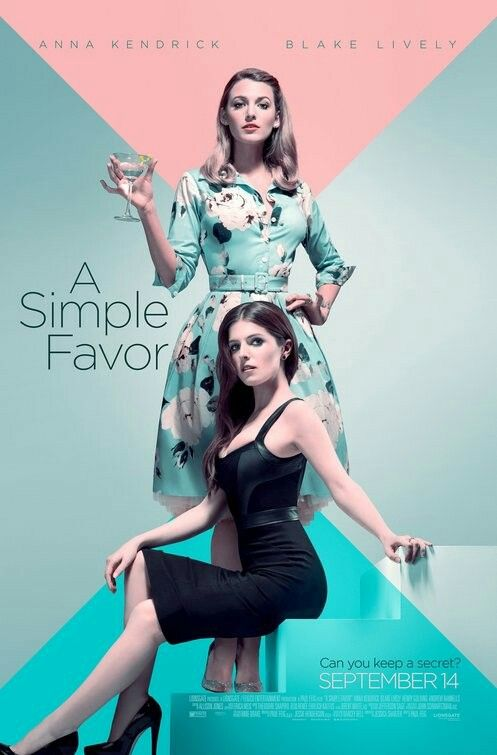 August Movie Date A Simple Favor Poster