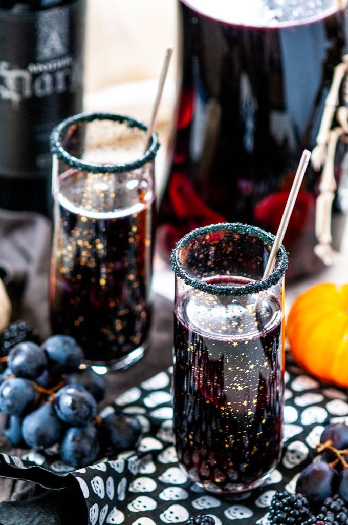 Halloween Witches Brew Black Sangria Aberdeen S Kitchen