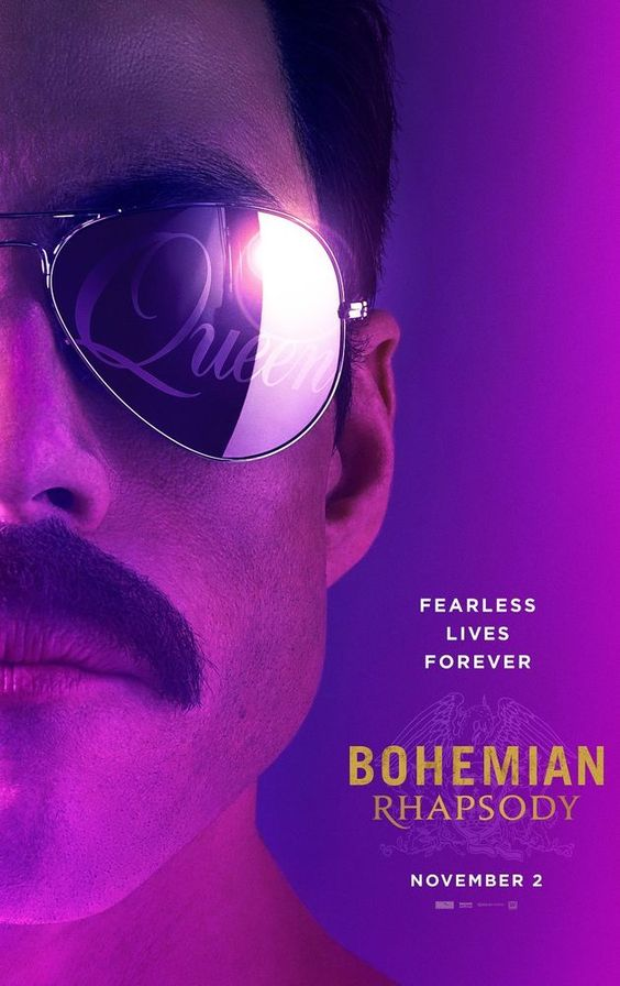 November Movie Date Bohemian Rhapsody Movie Poster