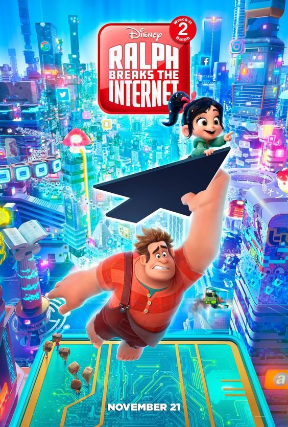 November Movie Date Ralph Breaks the Internet movie poster