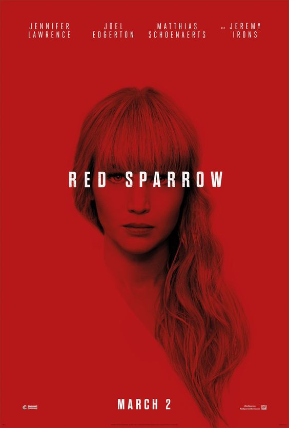 November Movie Date Red Sparrow Movie Poster