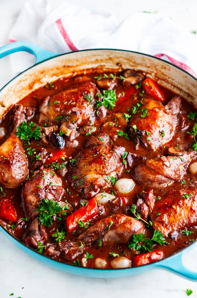 Julia Child S Coq Au Vin Aberdeen S Kitchen