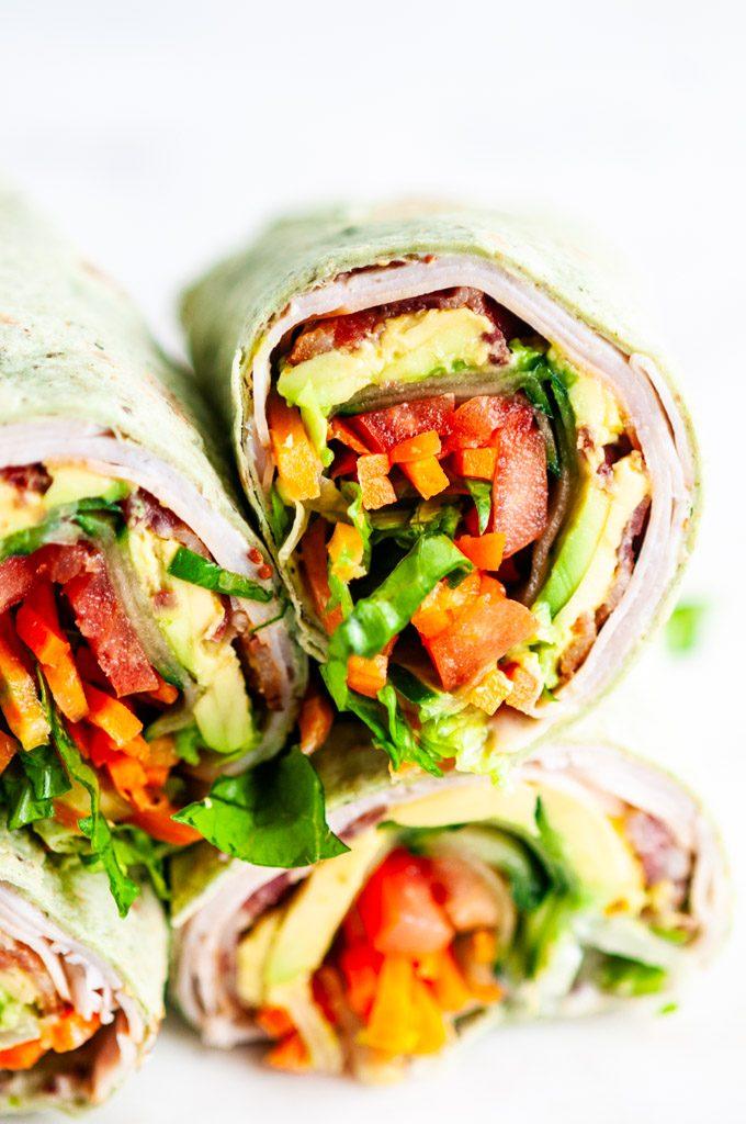 Turkey Blt Wraps Aberdeen S Kitchen