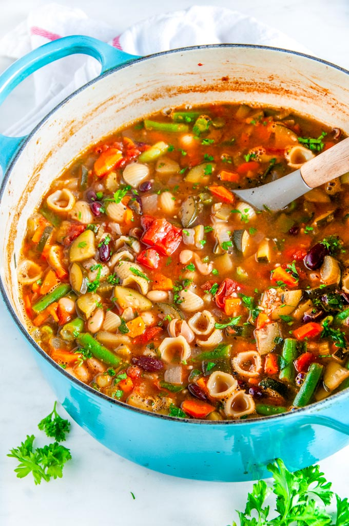 Easy Classic Minestrone Soup Aberdeen S Kitchen