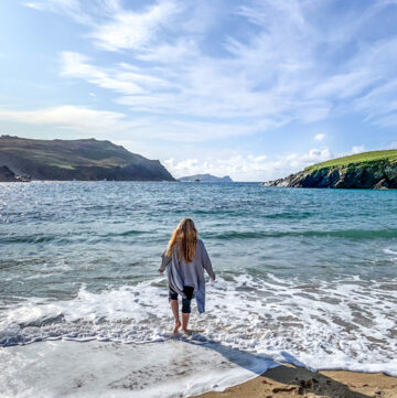 Beach on Dingle Peninsula Ireland