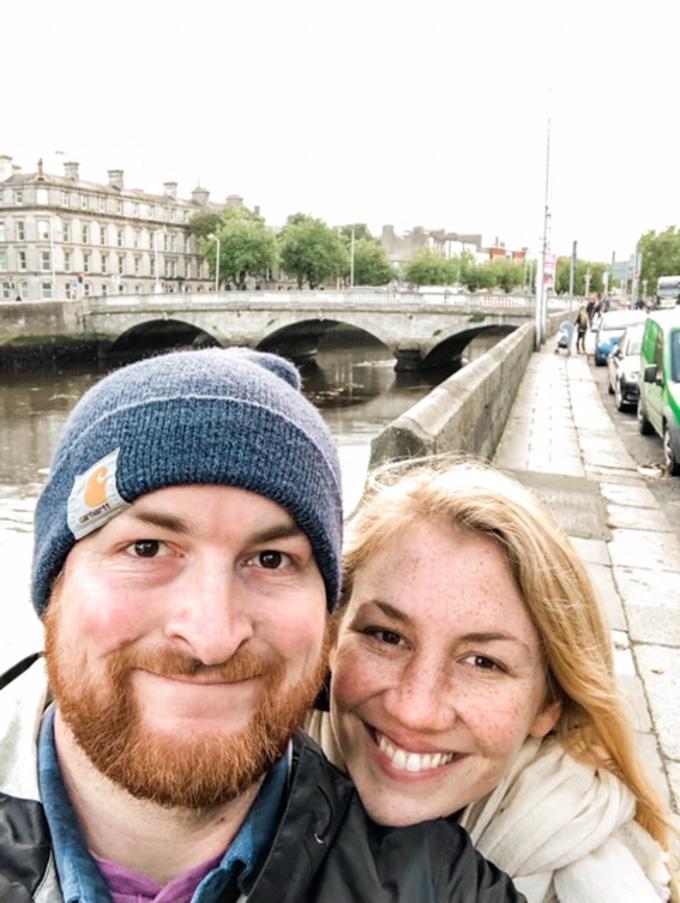 Dan and Aberdeen in Dublin